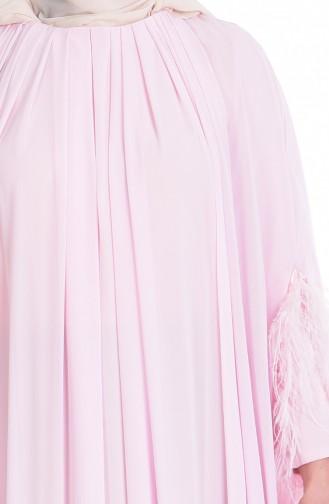 Chiffon Umhangskleid 2018002-03 Pink 2018002-03