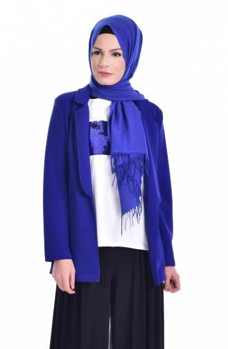 Bluz Ceket İkili Takım 8914-03 Saks