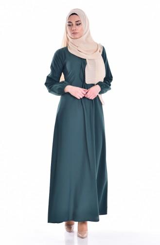 1029aac286c7d Yeşil Tesettür Elbise Modelleri ve Fiyatları - Tesettür Giyim ...