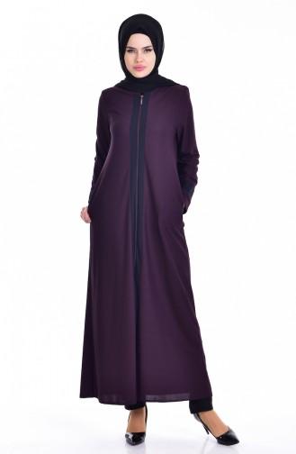 Purple Abaya 0119-01