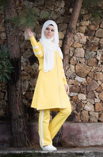 Yellow Sweatsuit 18050-09