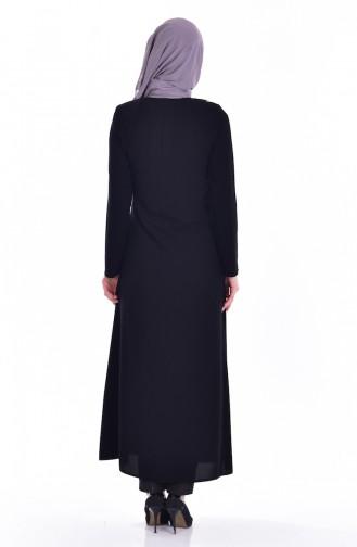 Black Abaya 24153-01