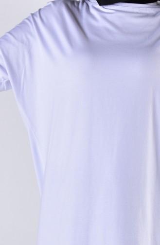 Naturfarbe Baumwoll-Shirts 0413-06