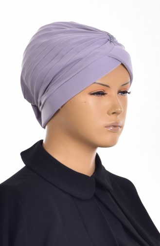 Pearl Ready Turban Bonnet 1007-08 Grey 1007-08