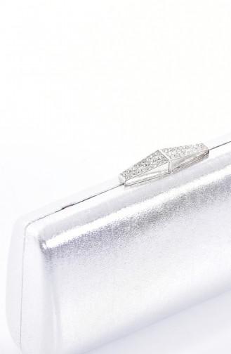 Damen Abendtasche 0792-02 Silber 0792-02