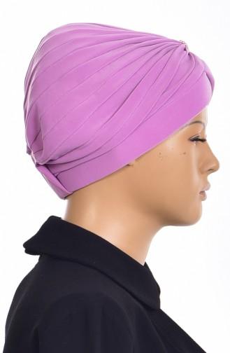 Pearl Ready Turban Bonnet 1007-10 Lila 1007-10
