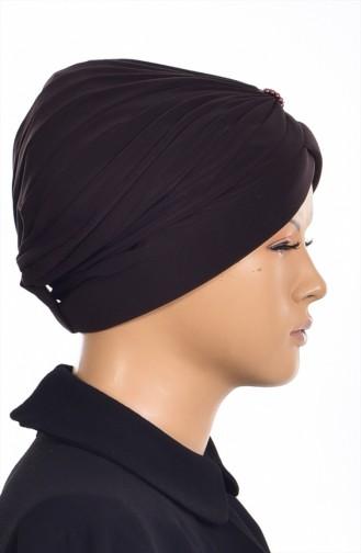Hijab Ready Turban Bone 1007-01 Black 1007-01