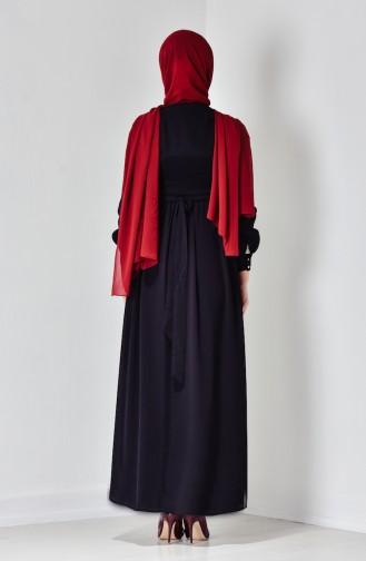 Black İslamitische Jurk 50103-06