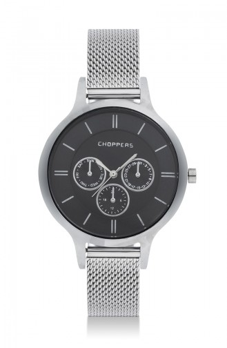 Choppers Armbanduhr CBH18027-01 Silber 18027-01