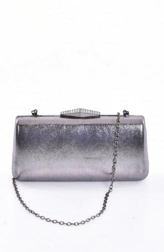 Ladies Evening Handbag 0792-03 Platinum 0792-03