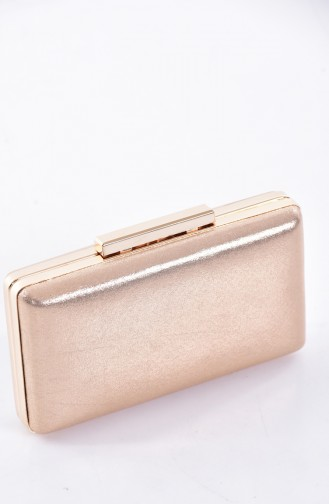 Gold Colour Portfolio Hand Bag 0250-01