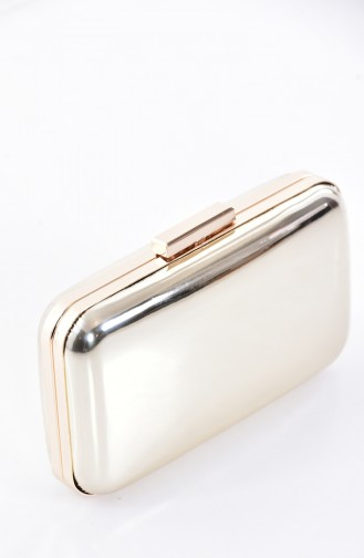 Gold Colour Portfolio Hand Bag 0270-01