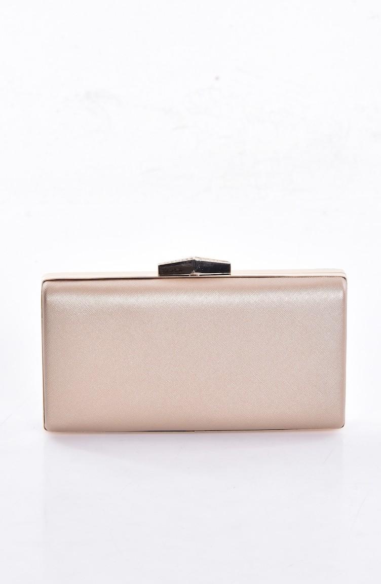 22632767e6e Ladies Evening Bag 0273-02 Prada Bronze 0273-02