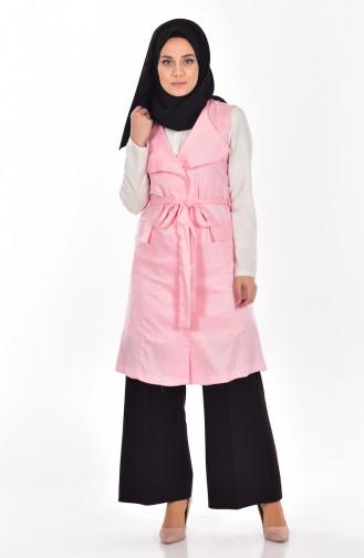 Pink Gilet 9362-01