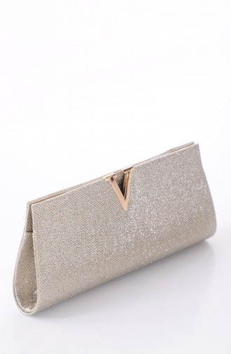 Ladies Cupra Evening Bag 0410-01 Gold 0410-01