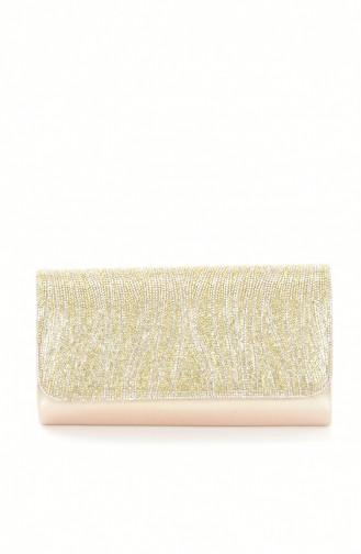 Ladies Evening Bag with Stones 0428-01 Gold 0428-01