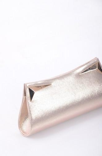Ladies Evening Bag 0433-01 Gold 0433-01