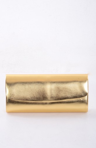 Gold Colour Portfolio Hand Bag 0477-01