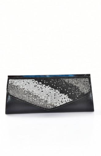 Black Portfolio Hand Bag 0306-04