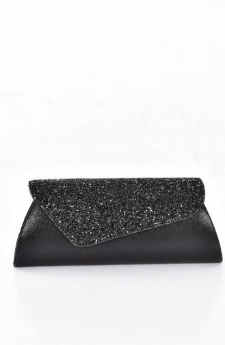 Black Portfolio Hand Bag 0421-04