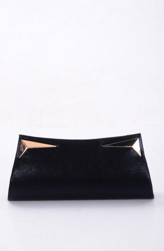 Sac de Soirée pour Femme 0433-04 Noir 0433-04