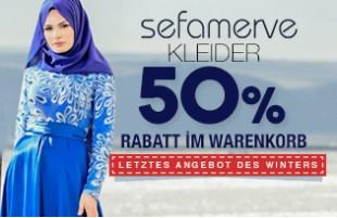 Bei Sefamerve Kleid 50% Rabatt im Warenkorb