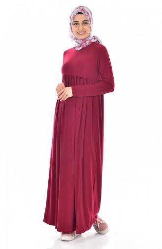 Claret red Dress 1852-05