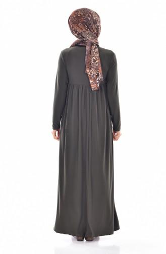 Khaki İslamitische Jurk 1852-04
