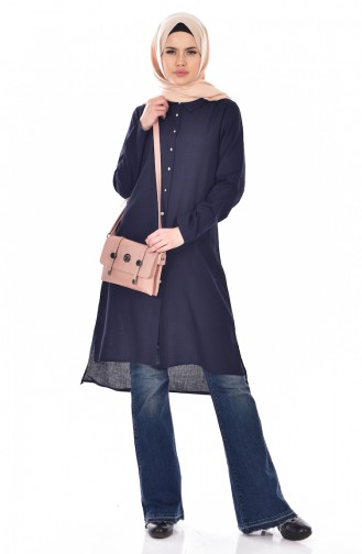 Navy Blue Tuniek 0307-02
