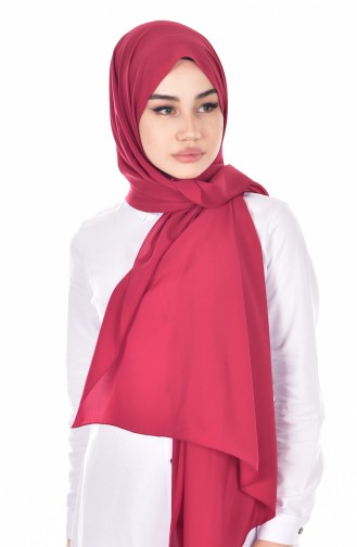 Karaca Soft Seiden aus Medine Schal  90431-34 Dunkel Weinrot 34