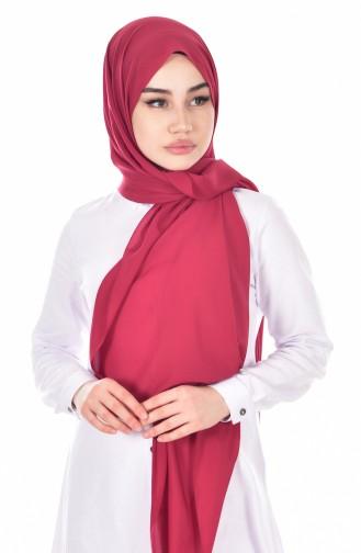 Dark Claret Red Sjaal 34
