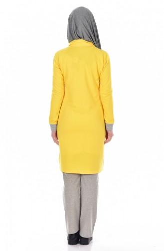 Yellow Sweatsuit 17008-10