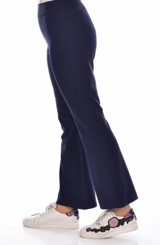 Navy Blue Pants 3004-04