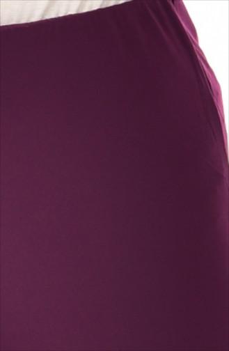 Pantalon élastique et Large 2605-02 Pourpre 2605-02