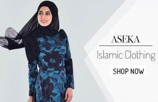 Aşeka Islamic Clothing Dress