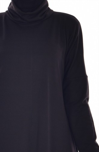 Dress Tunic with Free Band Bonnet 1004-03 Black 1004-03