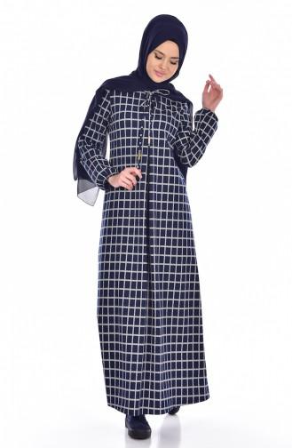 Dunkelblau Hijap 1700-01