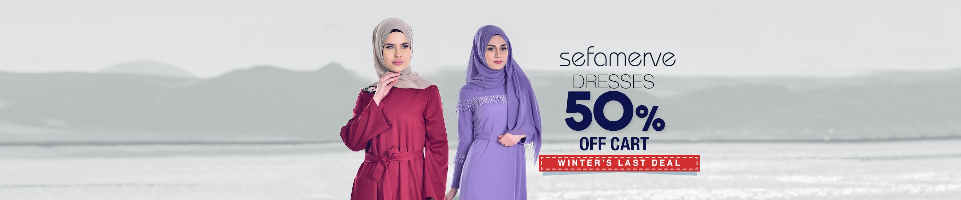 %50 Discount of Cart on Dresses