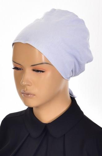 Sefamerve Bonnet antidérapant en Coton 0110-01 Gris Clair 0110-01