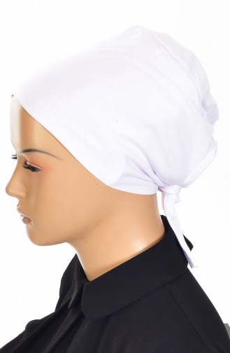Bonnet Antidérapant Lycra 0302-01 Lila Blanc 0302-01