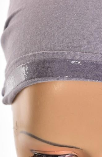 Sefamerve Bonnet antidérapant en Coton 0109 Gris Foncé 0109-01