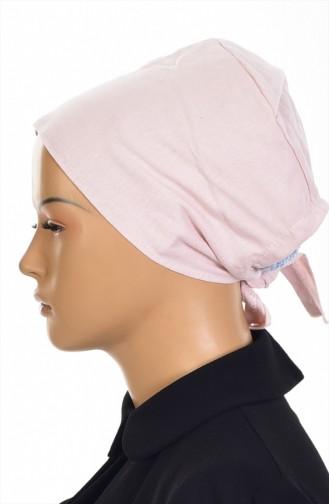 Sefamerve Bonnet antidérapant en Coton 0108-01 Poudre 0108-01