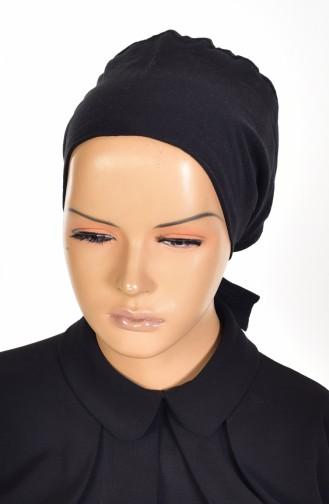 Sefamerve Bonnet antidérapant en Coton 0103-01 Noir 0103-01