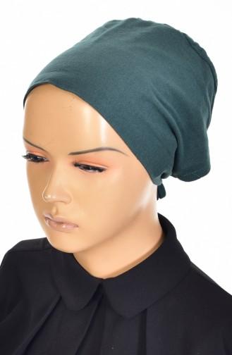 Sefamerve Bonnet antidérapant en Coton 0107-01 Vert emeraude 0107-01