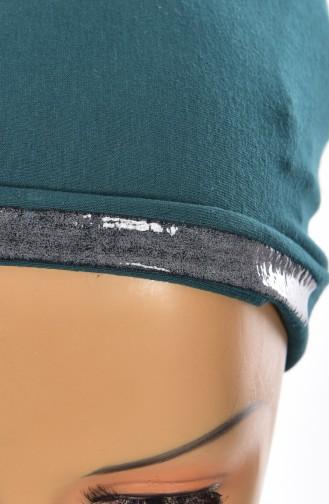Sefamerve Bonnet Antidérapant Lycra 0307-01 Vert emeraude 0307-01