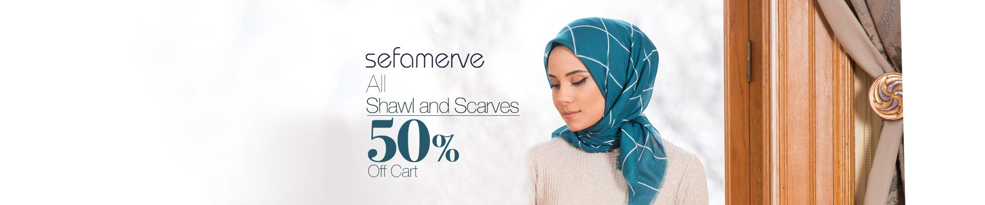 All Shawl and Scarves 50% Off Cart