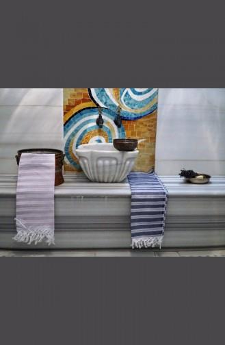 Saraylı Peshtemal Slim Stripes 9003-02 Lilac 9003-02