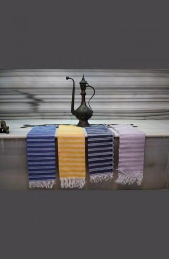 Saraylı Peshtemal Slim Stripes 9003-03 Yellow 9003-03