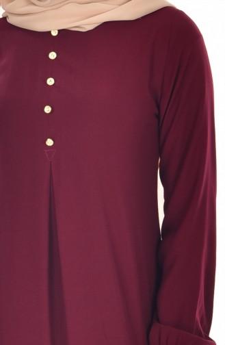 Robe Hijab Cerise 9012-03