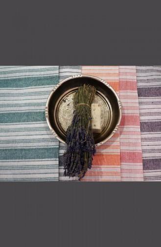 Saraylı Peştemal Kalın Çizgili 9004-05 Yeşil 9004-05